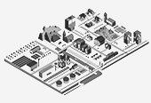 La ville isométrique